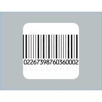 China CustomSquare Barcode Security Labels Printer for Pharmacy and Book on sale