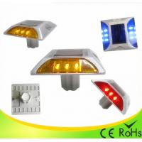 Best IP68 Aluminum Shell Solar Led Road Stud With 1000M Visual Distance , Solar Cats Eyes wholesale