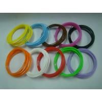 China PLA ABS 3D Printer Filament 1.75mm 3mm / 3d Printing Materials on sale