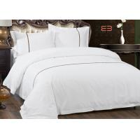 Best Hotel Bedding Set 100% Cotton With 60S 300T King Size And White Color wholesale