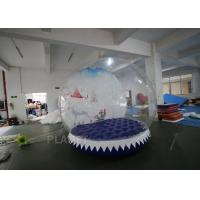 Best 3m Inflatable Human Size Snow Globe For Promotion Fire Retardant wholesale