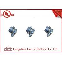 Buy cheap Zinc Alloy Clamp Flexible Conduit Fittings 3/8 inch Zinc Squeeze Connector from wholesalers