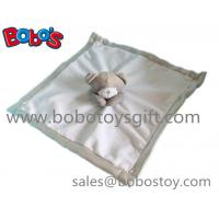 Quality EN71 Approved Stuffed Brown Bear Style Baby Blanket Plush Baby Comforter wholesale