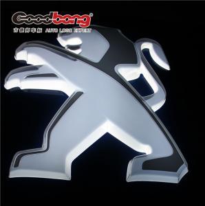 Best Custom 3d acrylic thermform led lighting car showroom logo wholesale