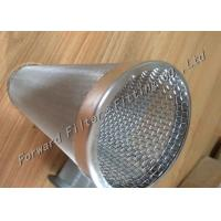 China OEM Ss304 / Ss304L Stainless Steel Wire Mesh Filter Spiral Welded Perforated Metal Tube on sale