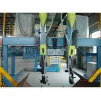 Auto Steel H Beam Welding Machine , 25KW SAW Welding Production Line