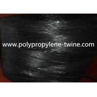 Buy cheap 7500Denier Black Banana Twine Virgin PP Material Twisted and UV Protection from wholesalers