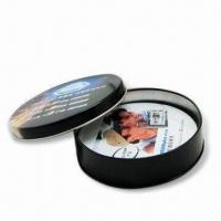 Best Cork Coasters(Tin material available) with 90mm Standard Diameter and 4 Colors Offset Printing wholesale