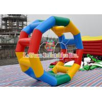 Best Rolling Cylinder Inflatable Water Wheel For Commercial Rental Business wholesale