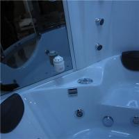 Cheap Luxury Steam Shower Bathtub Combo With Spa Tub , Home Steam Shower Units for sale