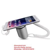 Best COMER with charge system and security anti theft alarm display stand holder rack for cellphone with lock cable wholesale