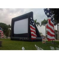 Best Advertising Inflatable Outdoor Movie Screen , Inflatable Projector Screen wholesale