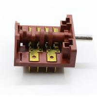 Best Copper Terminal Mini Rotary Switch , 4 Pole 3 Position Dishwasher Switch wholesale