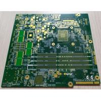 Best Green Soldmask Custom Printed Circuit Board 10 Layers FR-4 1.6mm 2OZ Copper Thickness wholesale