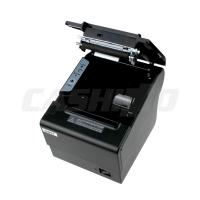 Best 1D / 2D Barcode Desktop USB Thermal Printer 80mm 3 Inch DC24V / 2.5A Auto Cutter wholesale