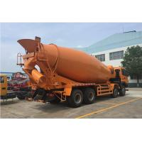 China Easy To Control Concrete Mixer Truck 6m Concrete Agitator Truck 1 Year Warranty on sale