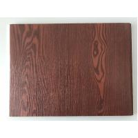 Best Fireproof  PVC Garage Wall Panels With Wooden Lamination Width 40cm wholesale