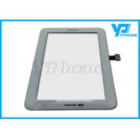Best P3100 Samsung Touch Screen Digitizer Replace , Black and White Color wholesale