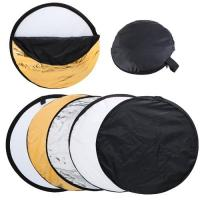 Cheap 60cm 5 in 1 Portable Photography Studio Multi Photo Disc Collapsible Light for sale