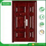 Best Steel Door in China Popular Designs American Front Steel Security Doors Used for House wholesale