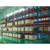 Quality Orange Heavy Duty Storage Racks with High Grade Cold Rolled Steel wholesale