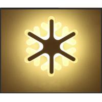 Best Snowflake Acrylic LED wall lighting /interior led wall lights for corridor wholesale