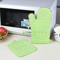 Best Promotional Customized Pattern Kitchen Cooking Oven Mitts And Pot Holders With Neoprene Oven Mitt wholesale
