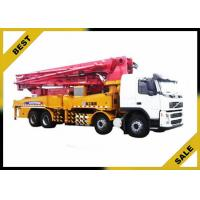 Best Differentiai Pressure Induction Concrete Boom Pump Truck Low Operation Temperature wholesale