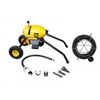 Hongli S200 Electric Sectional Cable Drain Cleaning Machine With Wheels