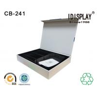 Buy cheap Recyclable Magnetic Closure Cardboard Box Packaging Perfume Sponge And Eva Foam from wholesalers
