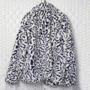 Best Anti Static Faux Fur Jacket , Comfortable Women