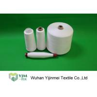 Best Optical White / Bleached White TPM 828 50s/2 Spun Polyester Yarn 42337 Meters Per KG wholesale