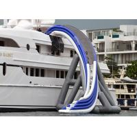 China Commercial Grade Inflatable Water Slide ,  Inflatable Yacht Ship Slide For Water Sport on sale