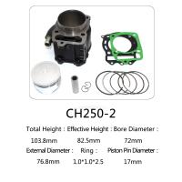 Best Honda Motorcycle Cylinder Kit  , Water Cooled Cylinder Block Kit CH250 wholesale