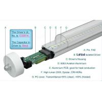 Best 1800LM Epistar 4 Foot T8 LED Tube Lights 19W Fa8 Single Pin , LED T8 Replacement Tubes wholesale