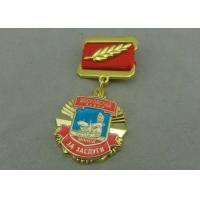 Best Zinc Alloy Die Casting Custom Awards Medals , Military Medals With Hard Enamel wholesale