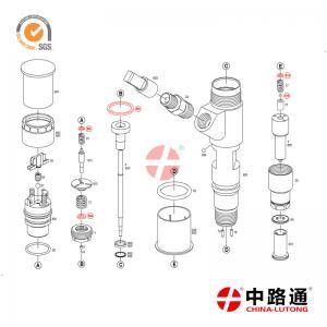 China fuel pump vs fuel injector 0 445 120 231 Fuel Nozzles & Injectors apply to Komatsu PC200-8 on sale