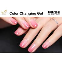 Best 15ml Lacquer Soak Off Mood Changing Gel Nail Polish With Remover Liquid wholesale