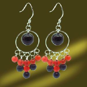 Best New Design 925 Stering Silver Dangle Earring (ESN3438) wholesale