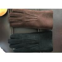 Best Cashmere Lining Warmest Sheepskin Gloves Gloves With Touch Screen Fingertips wholesale