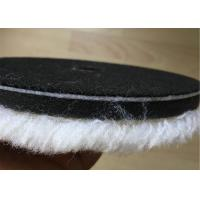 Cheap 150 Mm Steel Pure Wool Polishing Pad Reusable Extremely Long Life For Car Buffing for sale