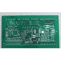 China 4 Layers FR-4 HASL Rigid PCB Circuit Board Green Soldmask With Blind Via on sale