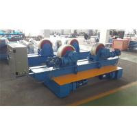 Best Bolt Adjustment Movable Pipe Welding Rollers , 20 T Capacity Pipe Supports Stands wholesale