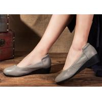 Best Leather Ballerina Ballet Flats Comfortable Trendy Shoes for pregnant women wholesale