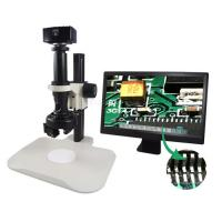 China Full HD Portable LCD Digital Microscope , 2X Coupler U500x Digital Microscope on sale