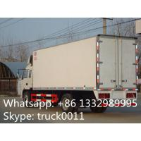 Best Iveco Yuejin 5tons refrigerator truck, Yuejin brand stainless steel cold room truck for sea food and seafish for sale wholesale