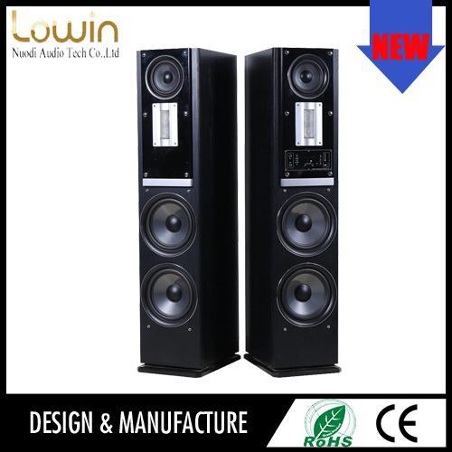 Cheap Household wooden subwoofer 2.0 active multimedia speaker , 4ohm impedance music karaoke speaker for sale