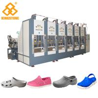Best Six Stations Plastic Shoes Injection Molding Machine For EVA Slipper Soles Making wholesale