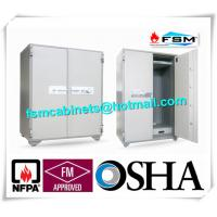 Best Security Fire Resistant Storage Cabinets , Fireproof Vertical File Cabinet For Office Data wholesale