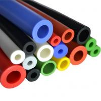 Best Solid silicone rubber short tube/Flexible rubber material heat shrinkable silicon tube wholesale